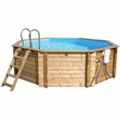 Above Ground Wooden Pools